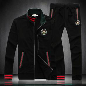 gucci blouson pantalon de survetement abeille ape black